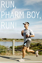 'Run, Pharmboy, Run!' movie poster